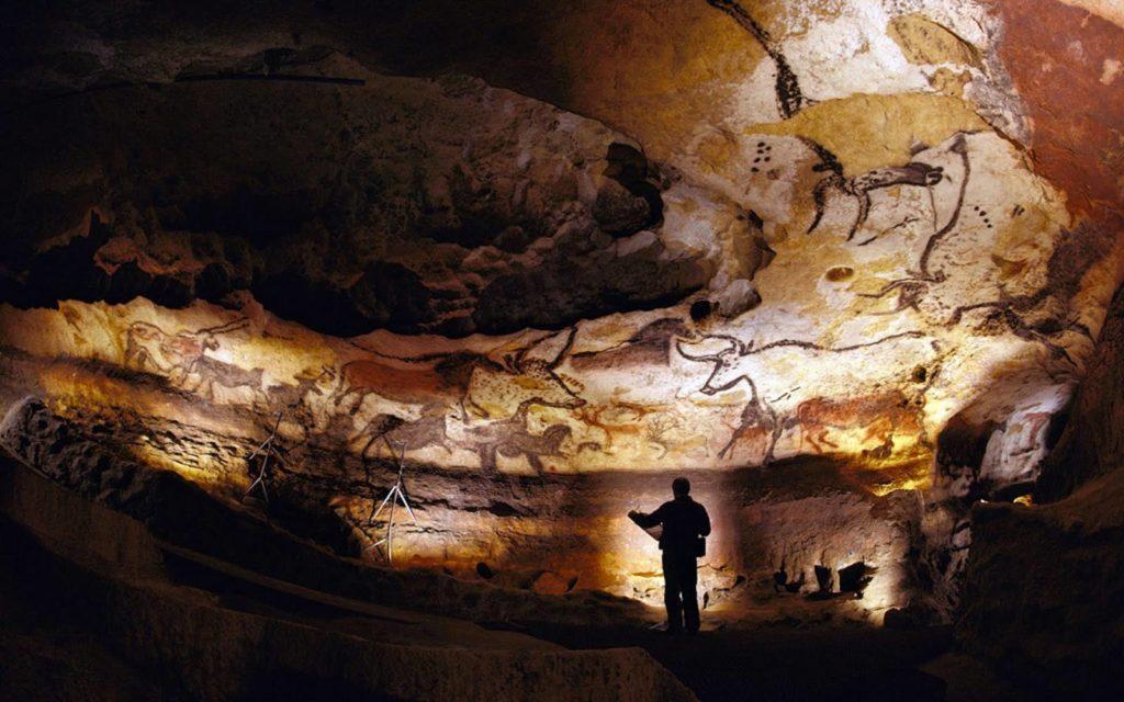 image des grottes de Lascaux