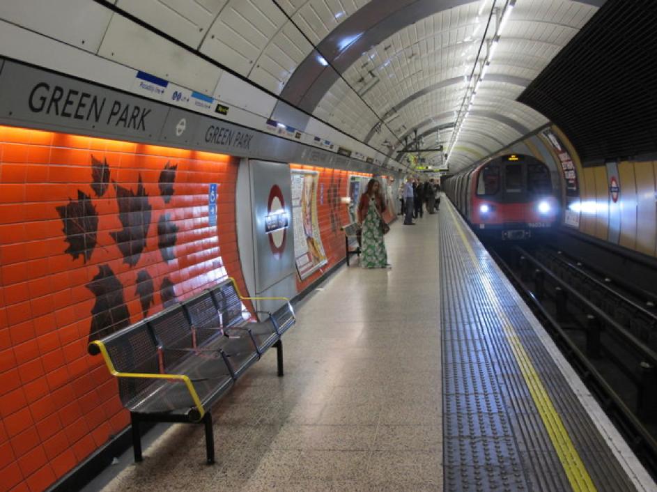 Image du métro de Green Park.