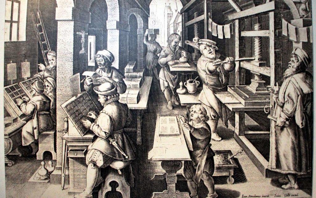 Imprimerie de gutenberg, média français à Londres