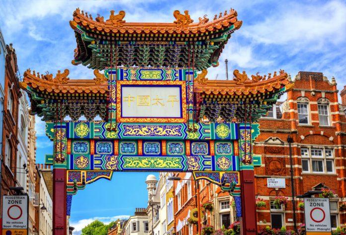 La population à Londres : Chinatown