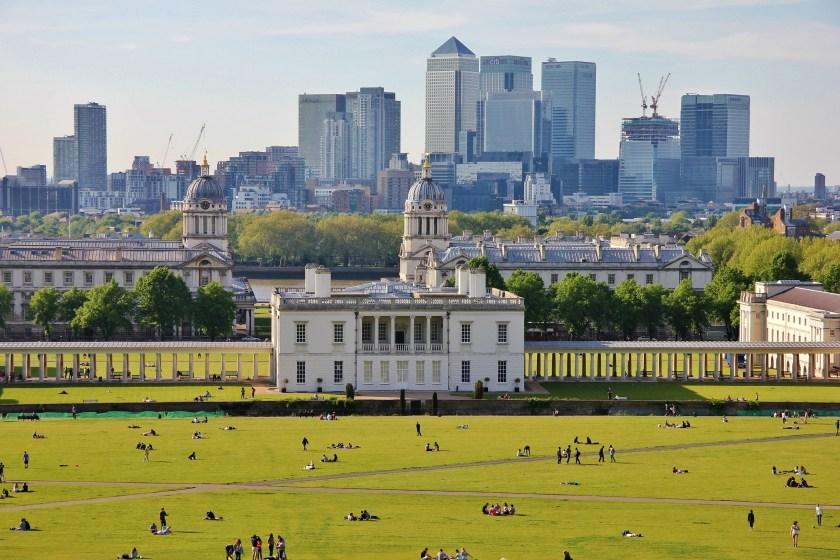 La population à Londres