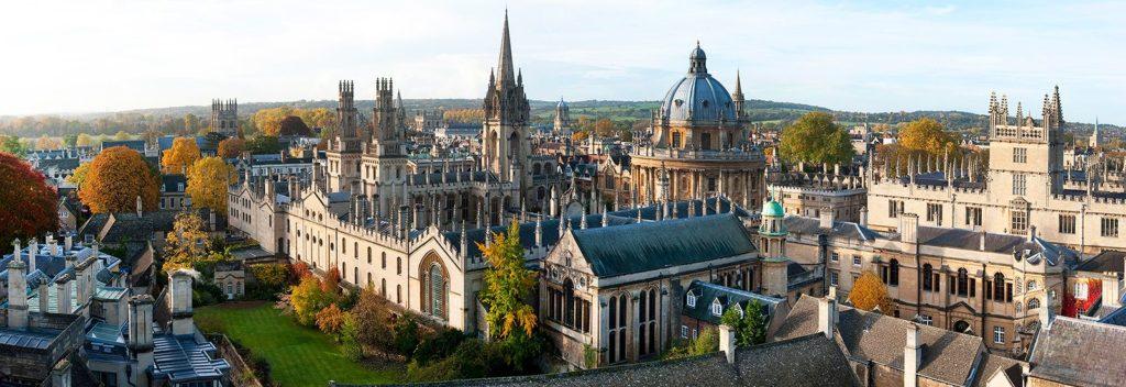 Comment étudier à Londres : UNIVERSITÉ D'OXFORD