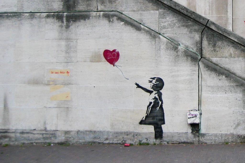 Le célèbre artiste Banksy