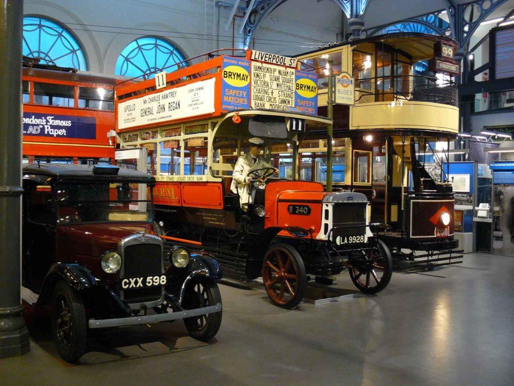 Les quartiers culturels de Londres : London Transport museum