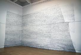 Les paysage de mots de Fiona Banner