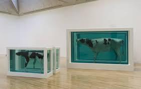 Les célèbres animaux de Damien Hirst