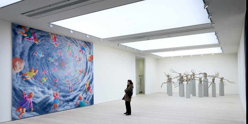 Les quartiers culturels de Londres : Saatchi Gallery