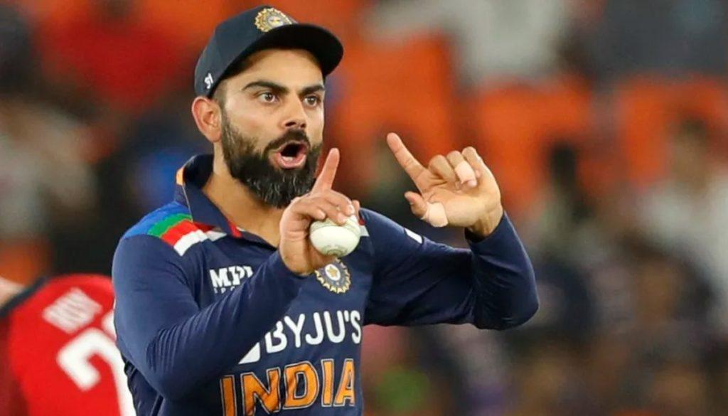 Le cricket Virat Kolli