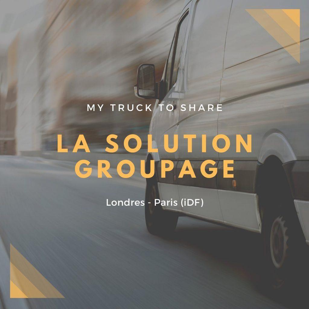 My Truck To Share : La formule groupage