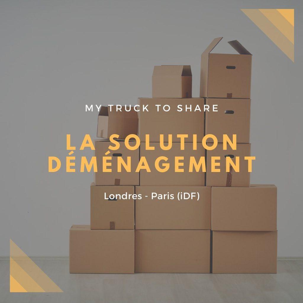 My Truck To Share : La formule déménagement