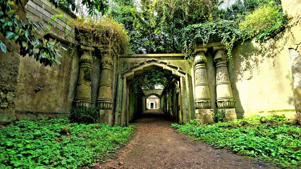 Vivre à Highgate: le cimetière