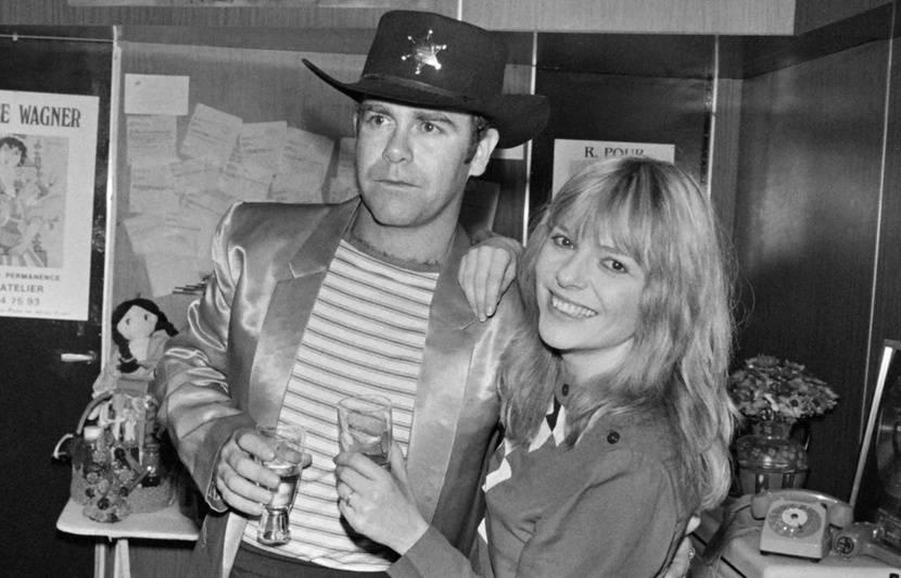 France Gall et Elton John