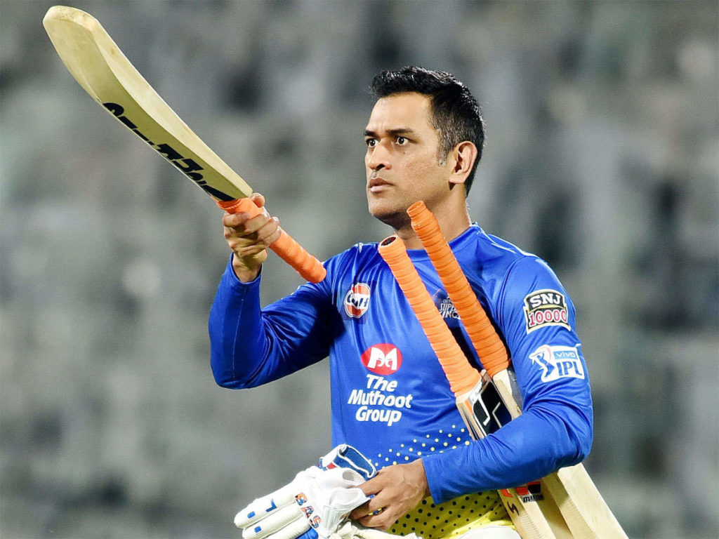 Le cricket MS Dhoni