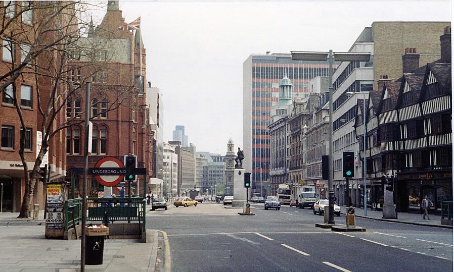 Les quartiers les lus chers de Londres: Holborn