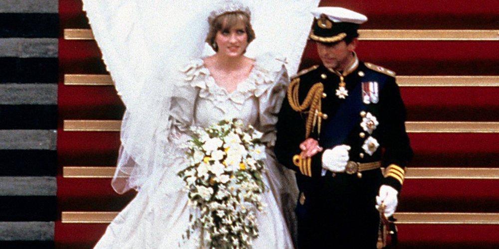 Le mariage de la princesse Diana