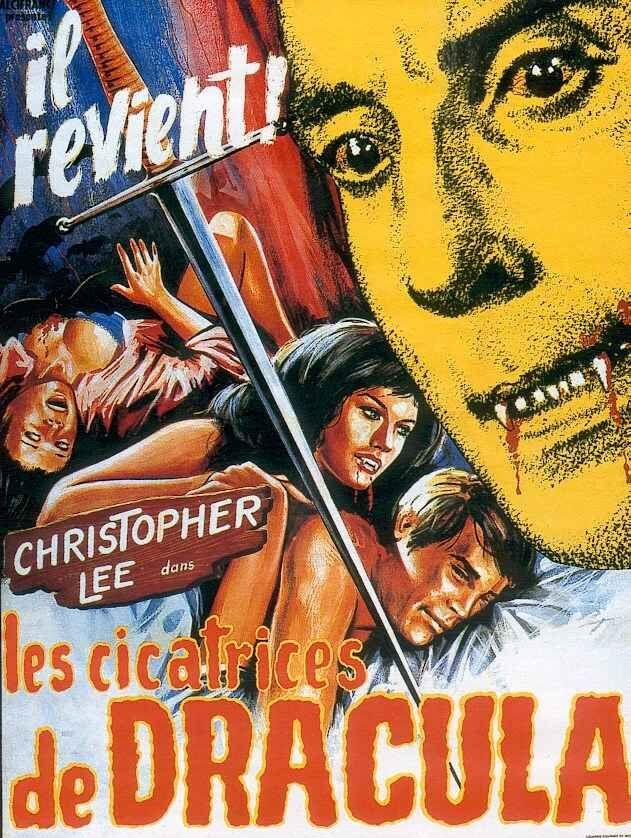 Films anglais années 70 : Les cicatrices de Dracula