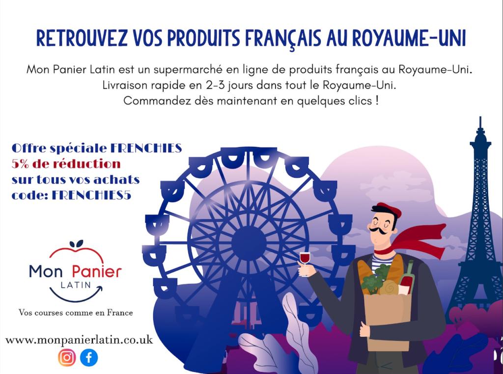 Mon Panier Latin : code promo